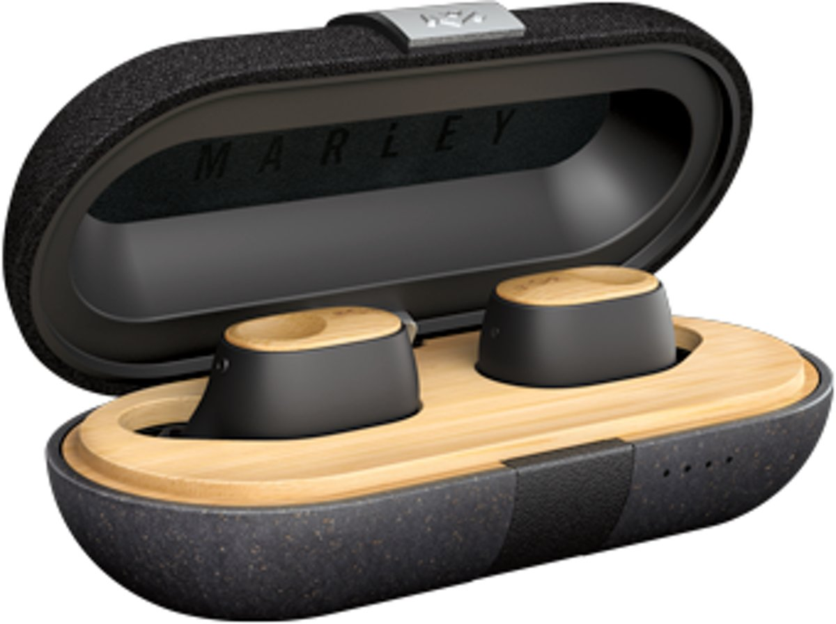 House of Marley - Liberate Air - Truly wireless earbuds - Signature Black