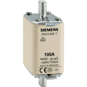 Siemens 3NA3803 NH zekering Afmeting zekering = 000 10 A 500 V/AC, 250 V/AC