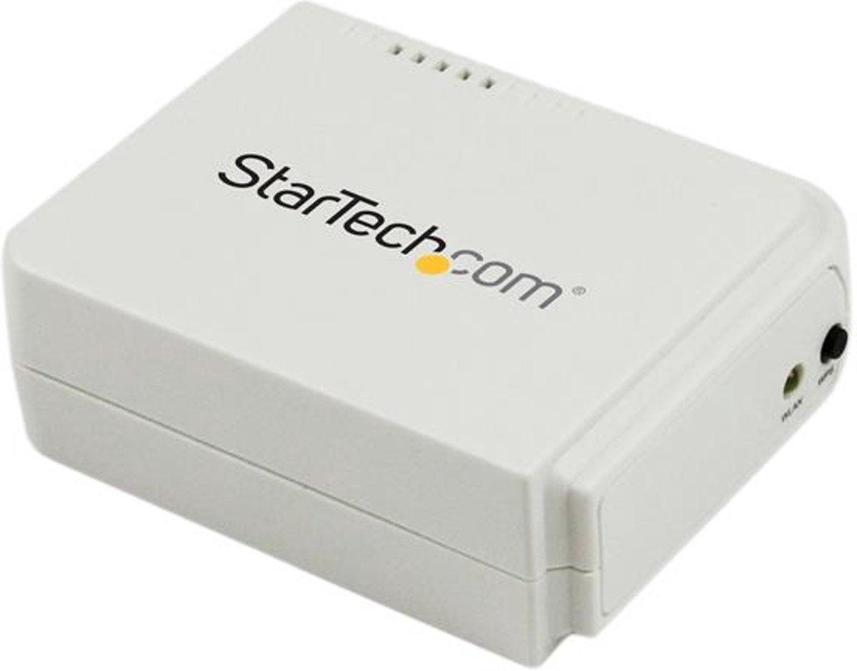 StarTech.com 1-poorts USB Wireless N netwerkprintserver