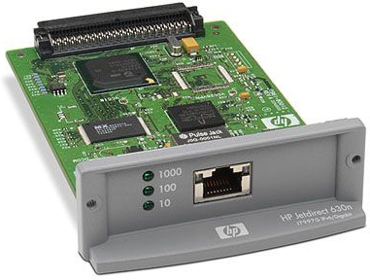 HP Jetdirect 630n print server Ethernet LAN Intern Grijs