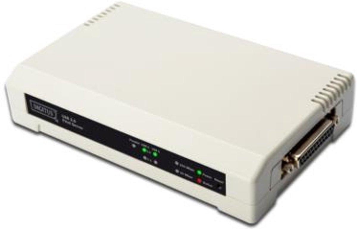 Digitus DN-13006-1 print server Ethernet LAN Wit