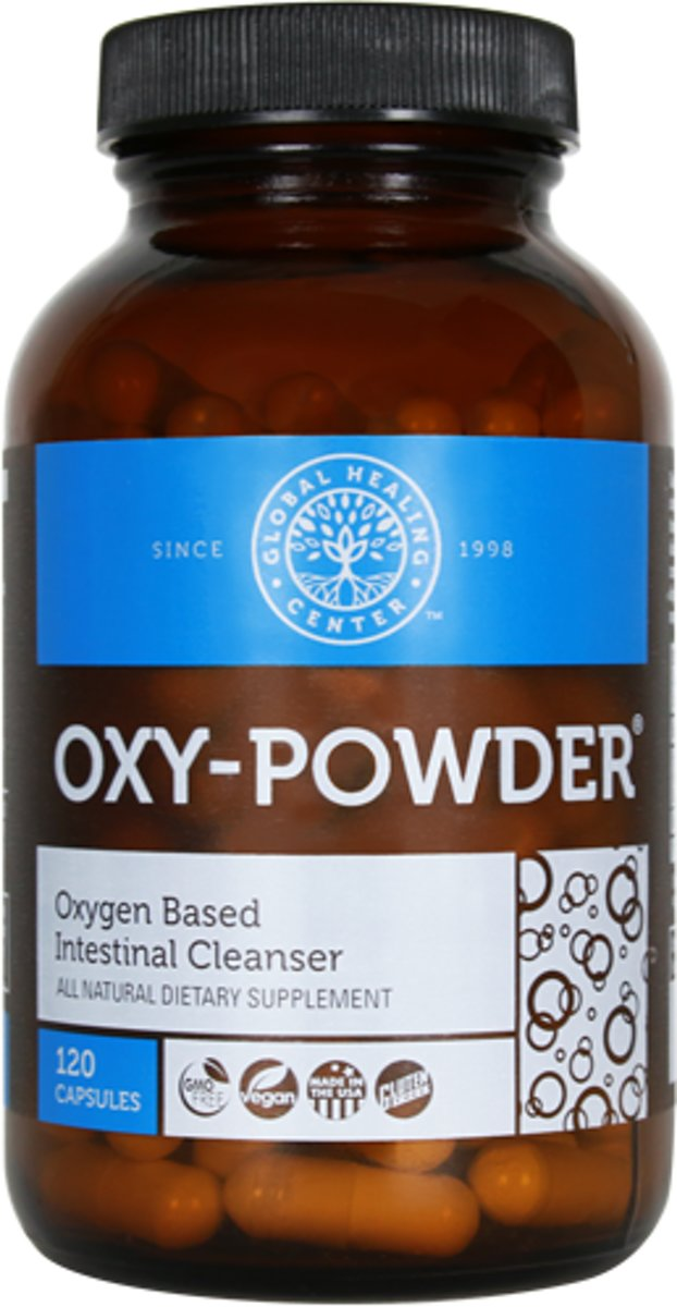 Global Healing Center (GHC) Oxy Powder 120 capsules