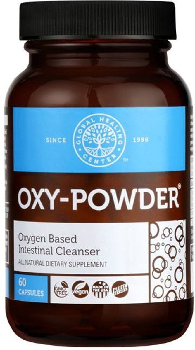 Global Healing Center (GHC) Oxy Powder 60 capsules