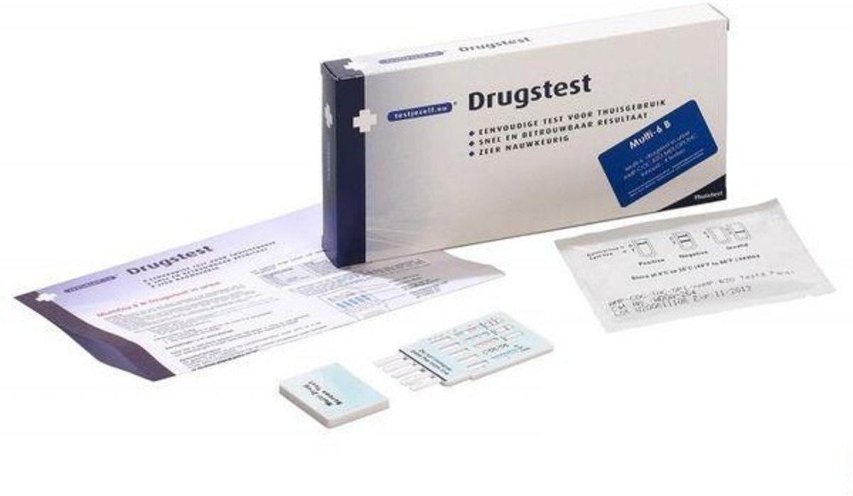 Testjezelf.nu Drug multi urine b6