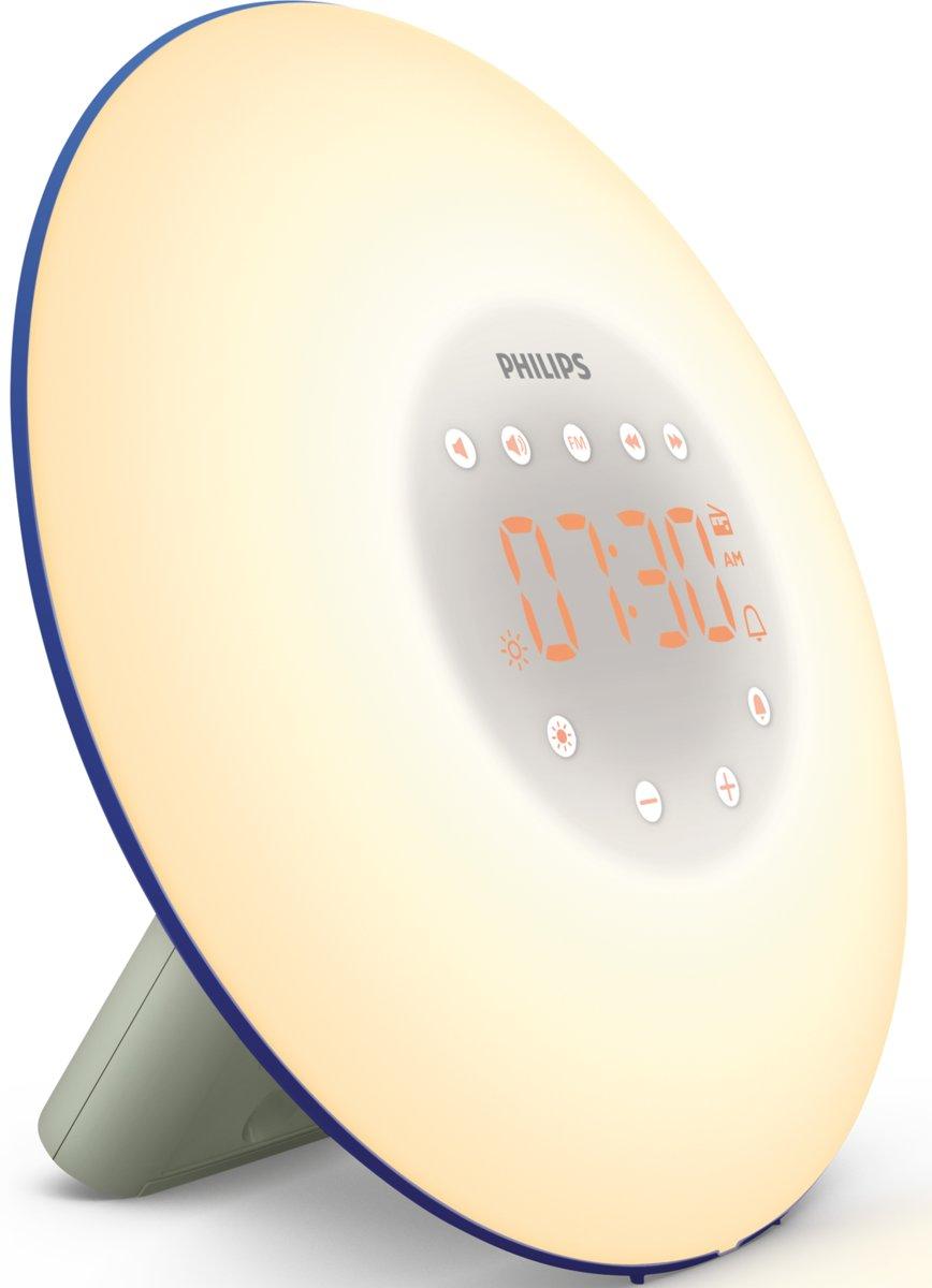 Philips Wake-up Light HF3506/20 - blauw/zilver