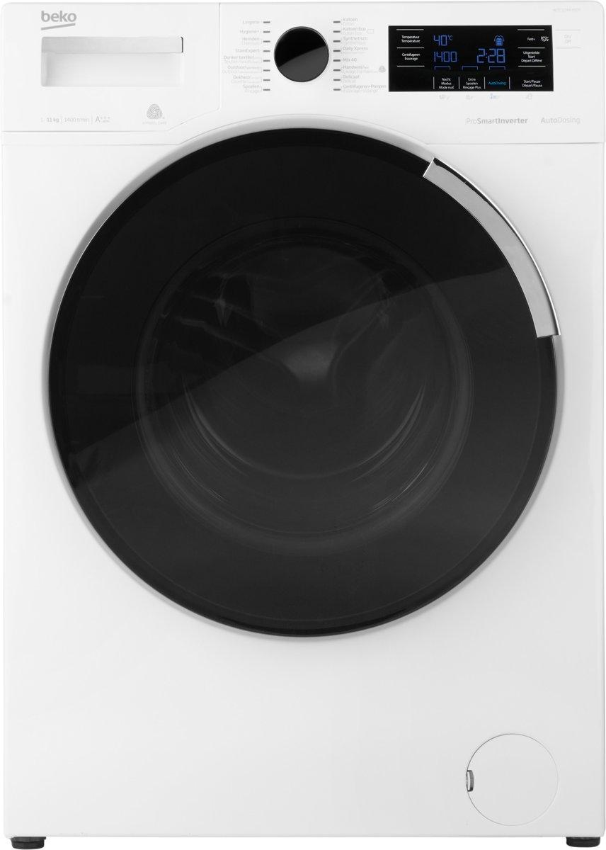 Beko WTE11744XDOS wasmachines - Wit