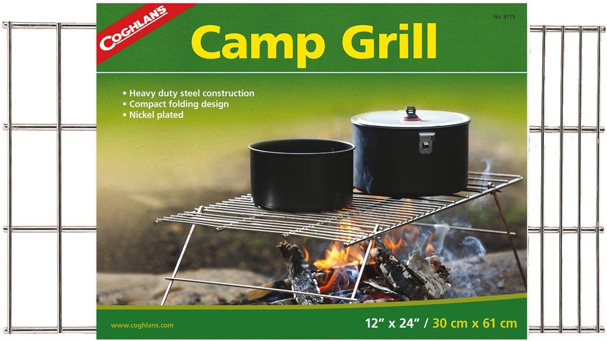 Coghlan's Camp Grill Houtskoolbarbecue - Opvouwbaar - Chroom