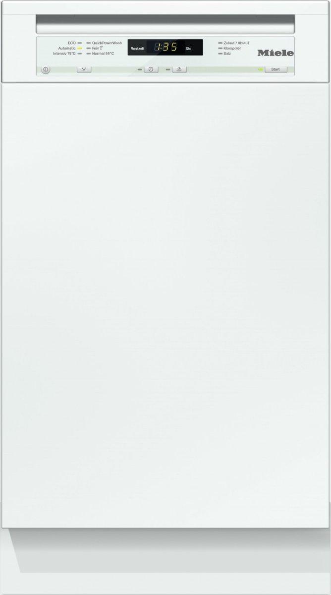 Miele G 4720 SCi BriljantWit - Inbouw vaatwasser