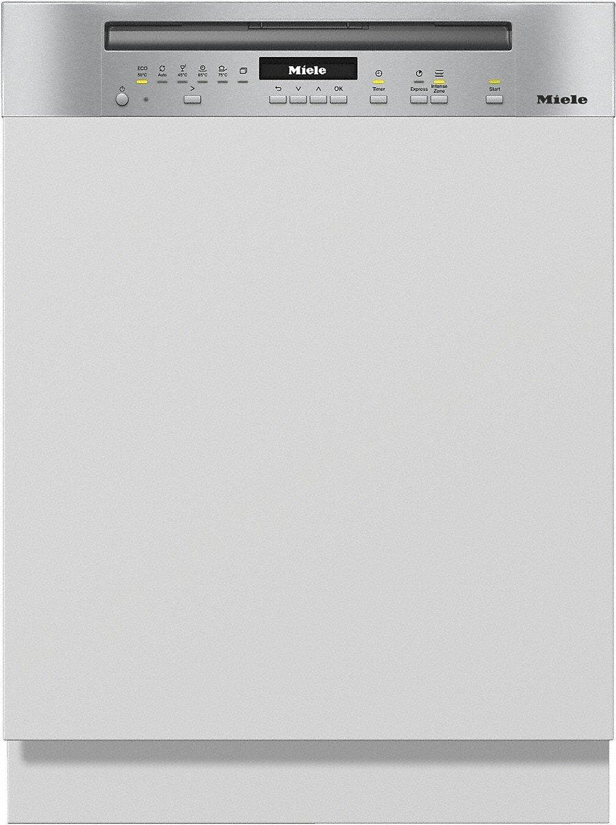 Miele G 7100 SCi CleanSteel - Half integreerbare vaatwasser