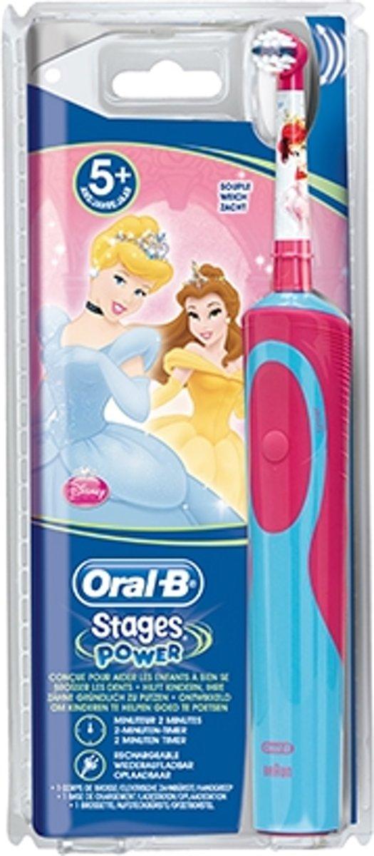 Oral-B Vitality Kids Stages Power Princess Elektrische Tandenborstel
