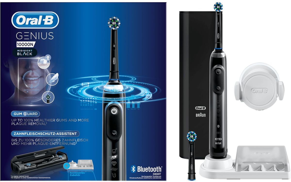 Oral-B Genius 10000N  Zwart - Elektrische Tandenborstel