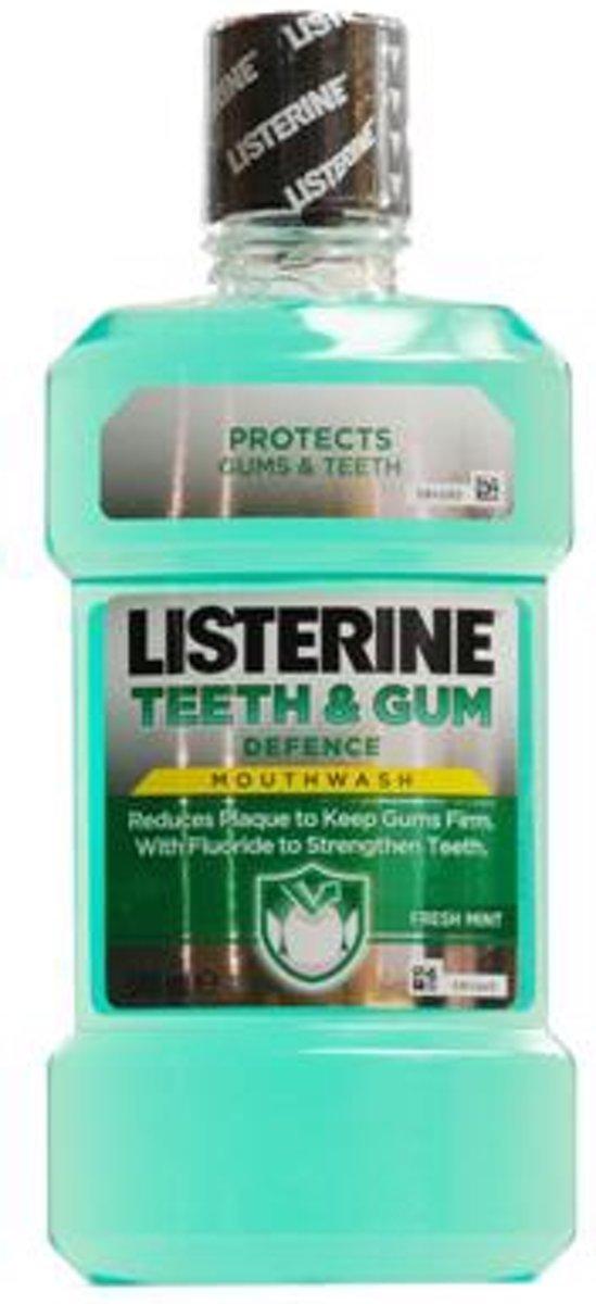 Listerine Teeth and Gum Defence mondwater - 500 ml