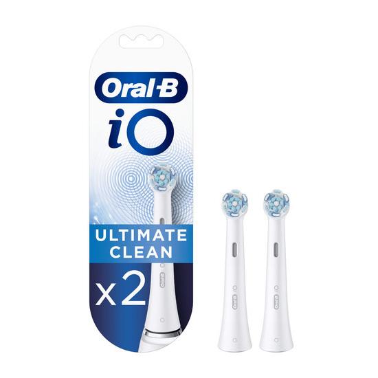 Oral-B iO Ultimate Clean Opzetborstels - 2 stuks