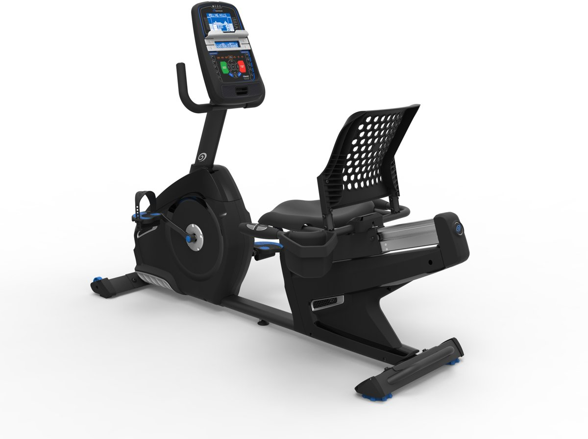 Nautilus R626 Ligfiets Black Series - met RideSocial
