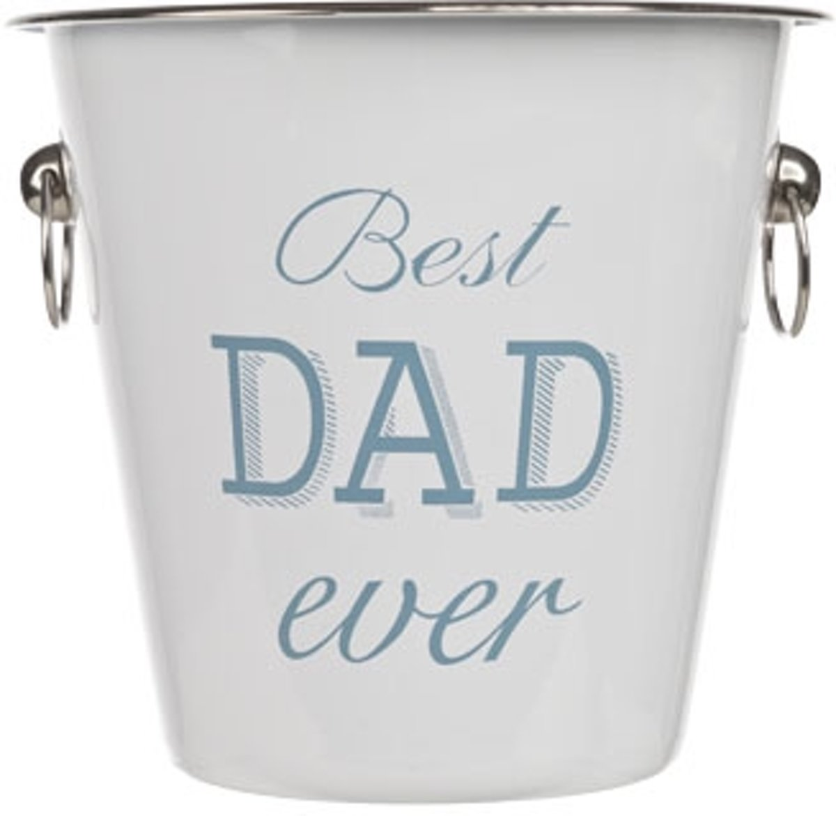 Cosy&Trendy 'Best dad ever' champagne emmer - ? 21 cm