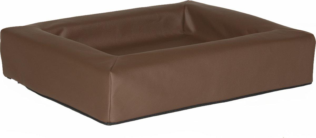 Comfort-Kussen hondenmand leatherlook 60 x 50 x 12 cm - Bruin