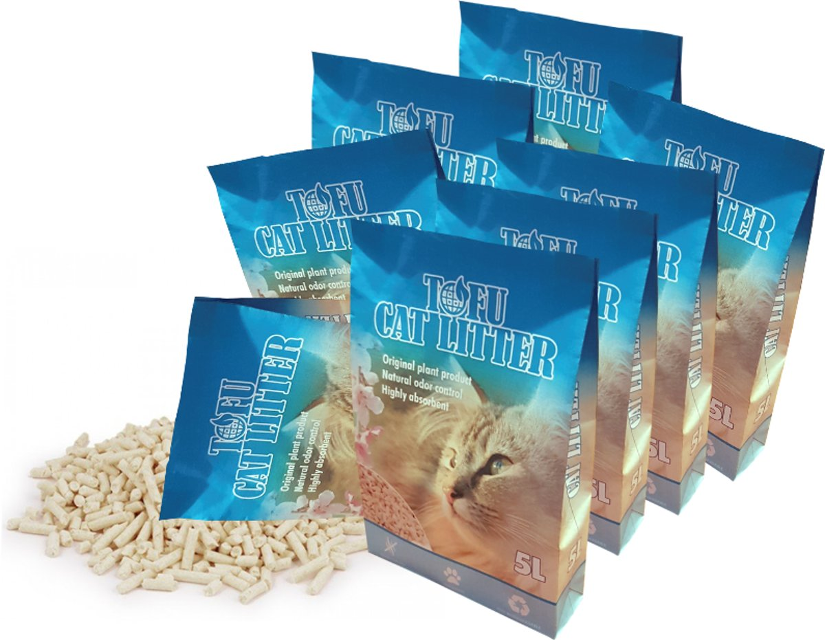 Tofu Cat Litter Kattenbakvulling - 40 l