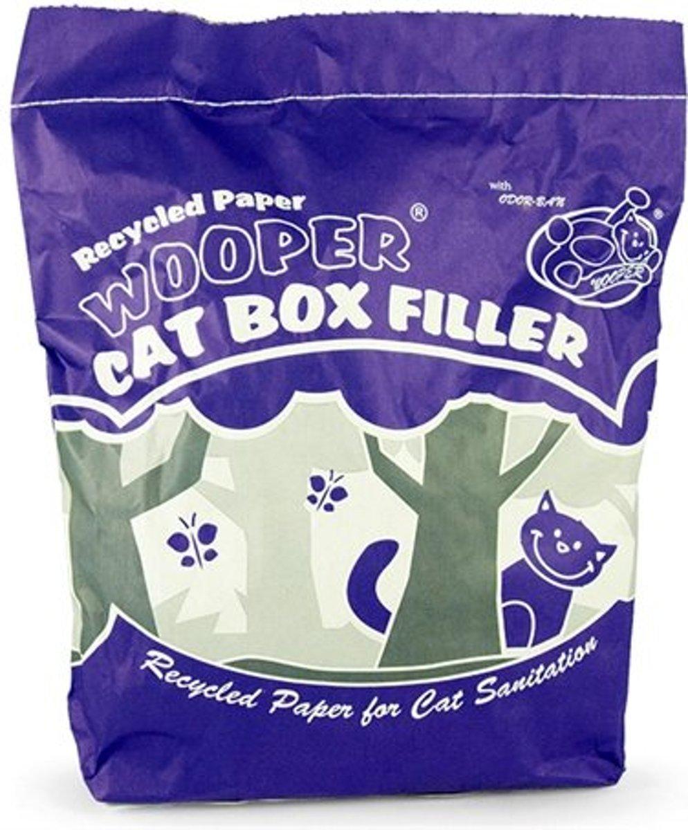 Wooper kattenbakvulling gerecycled papier