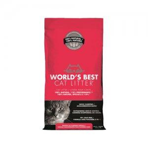 World's Best - Cat Litter - Extra Strength Red - 3,18 kg