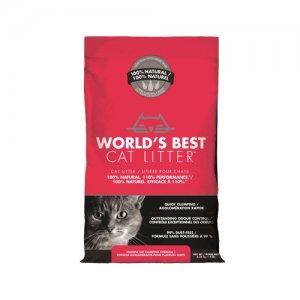 World's Best - Cat Litter - Extra Strength Red - 6,35 kg
