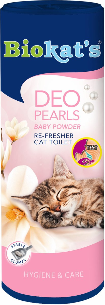 Biokat's Deo Pearls - Baby Powder - 700 gram