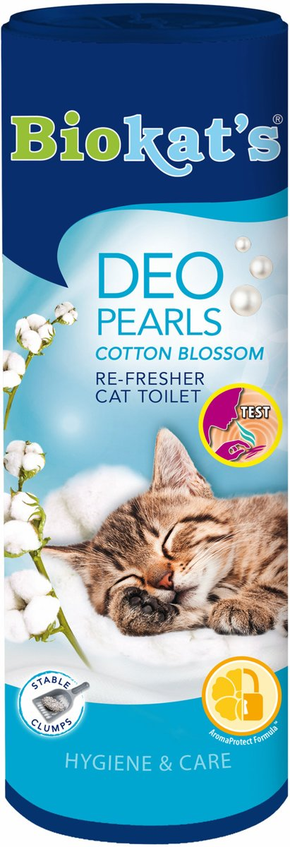Biokat's Deo Pearls - Cotton Blossom - 700 gram