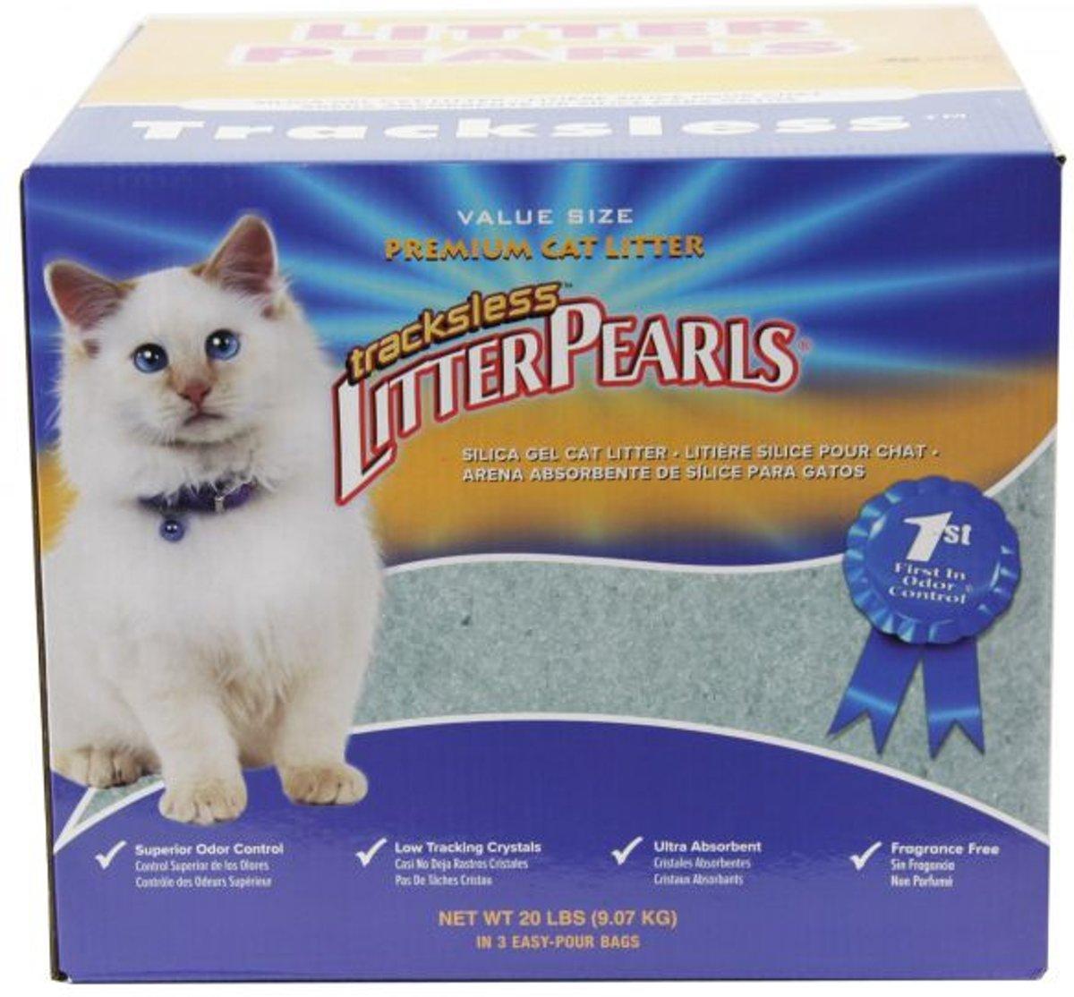 Crystal clear litter pearls kattenbakvulling