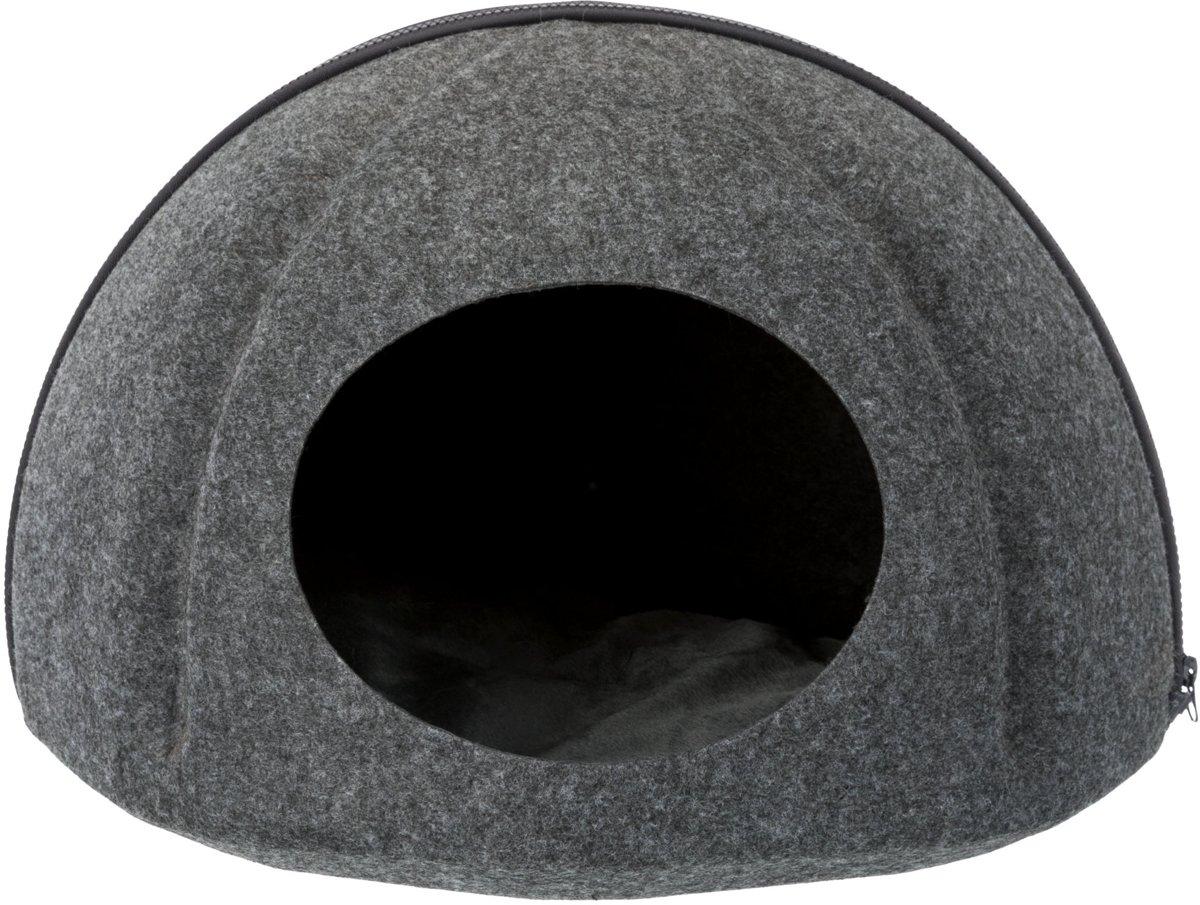 Trixie kattenmand iglo evi antraciet 43x43x32 cm