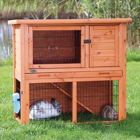 Trixie natura konijnenhok met ren bruin