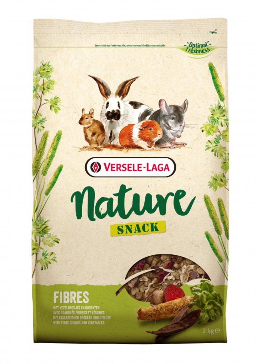 Versele-Laga Nature Snack Fibres - Knaagdiersnack - 2 kg