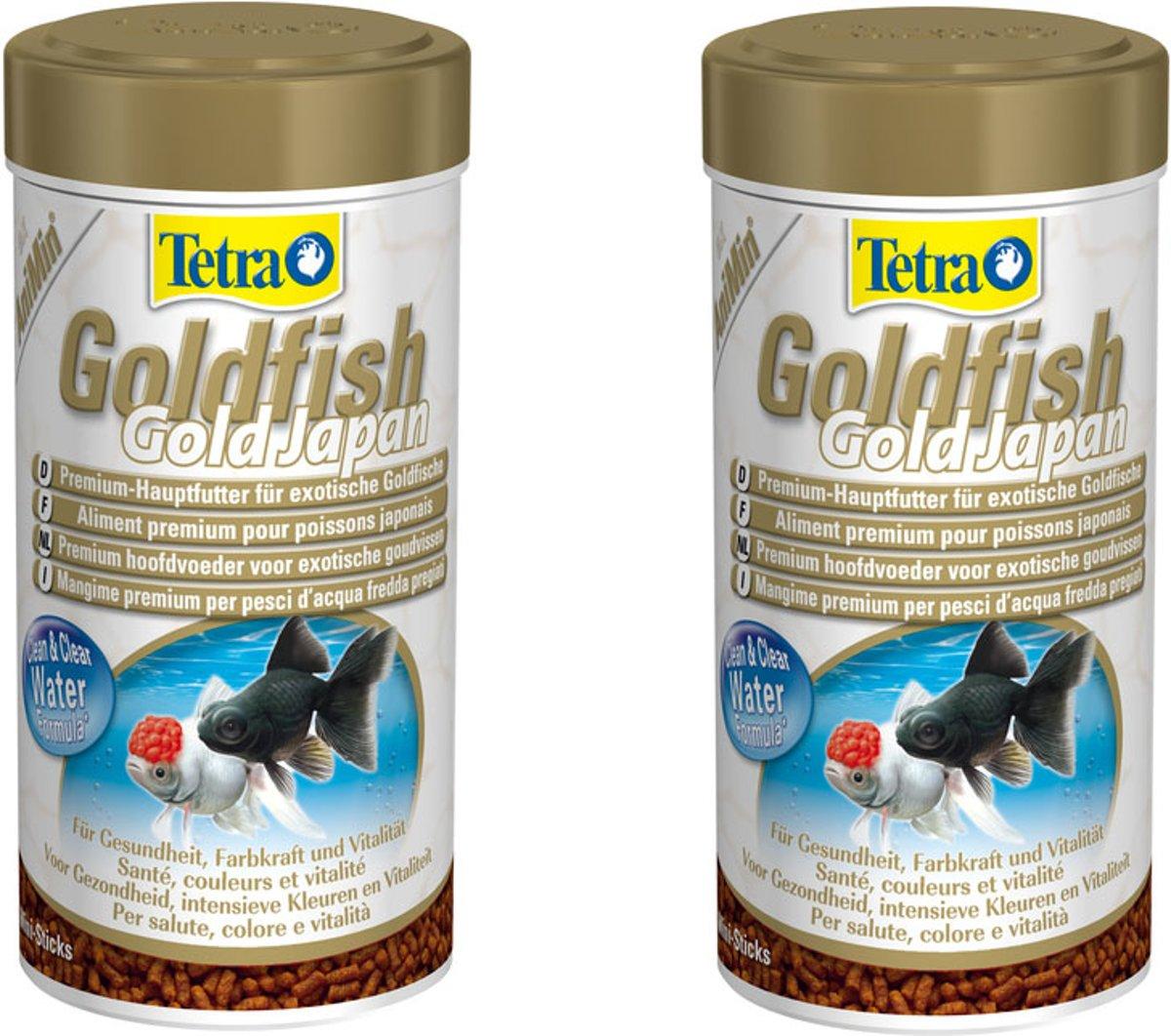 Tetra Animin Goudvisvoer Japan - 250 ml per 2 stuks