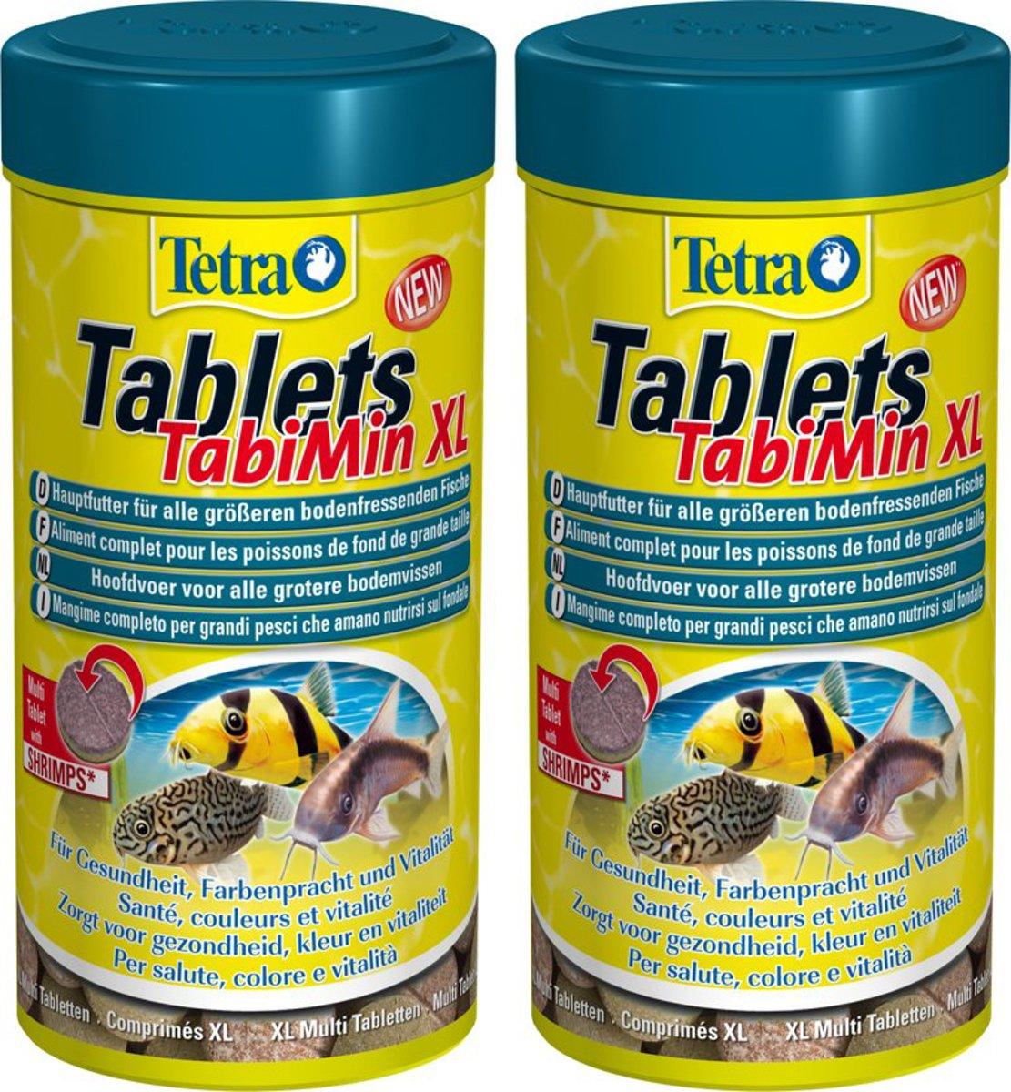 Tetra Visvoer Tablets Tabimin - Xl - 133 Tabletten 2 verpakkingen