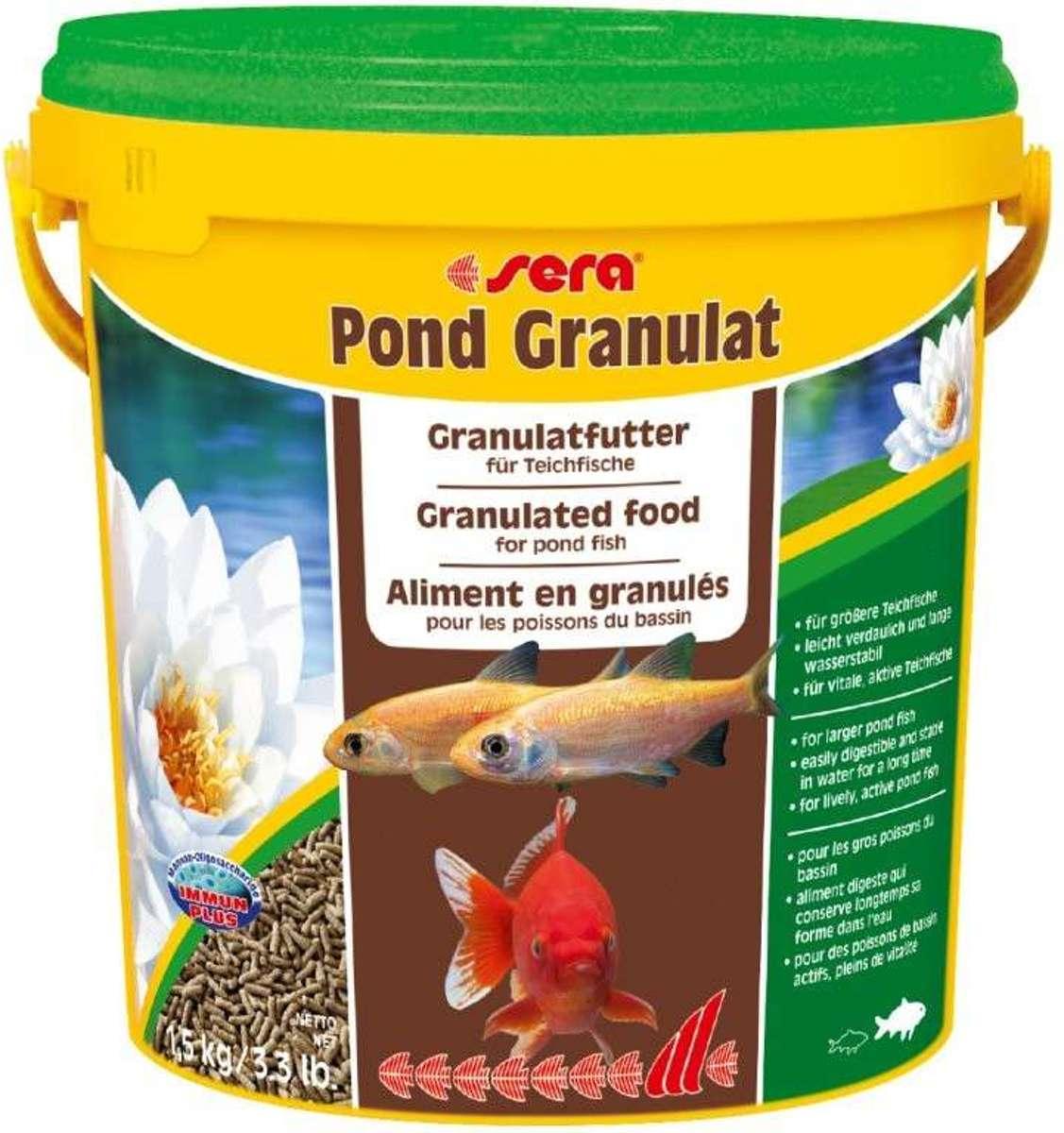 Sera visvoer pond granulaat 20 liter