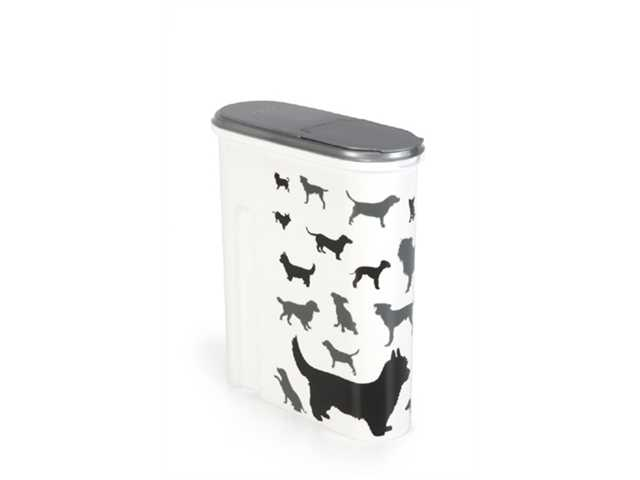 Voedselcontainer Opdruk Hond Silhouette