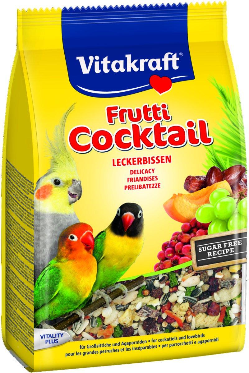 Vitakraft grote parkiet/agapornissen coctail frutti