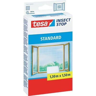 Tesa vliegenhor standaard voor ramen (l x b) 1.3 m x 1.5 m Wit insectenverdrijver 55672-20 tesa Insect Stop STANDARD
