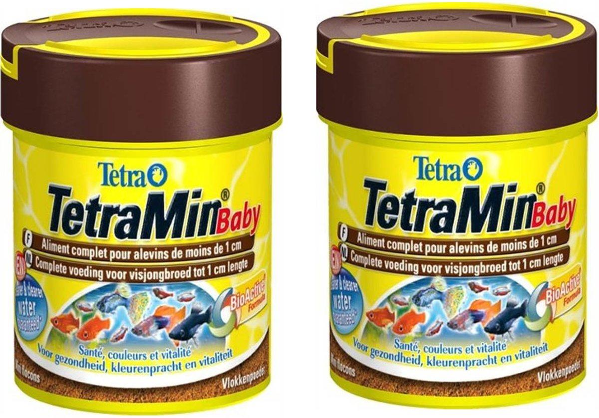 Tetramin Baby Bio Active Vissenvoer - Siervisjongen - 66 ml per 2 potjes