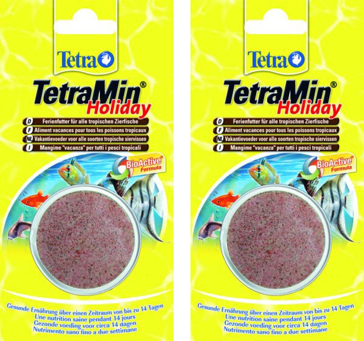 Tetra Holiday vakantievoer 2 verpakkingen van 30gr