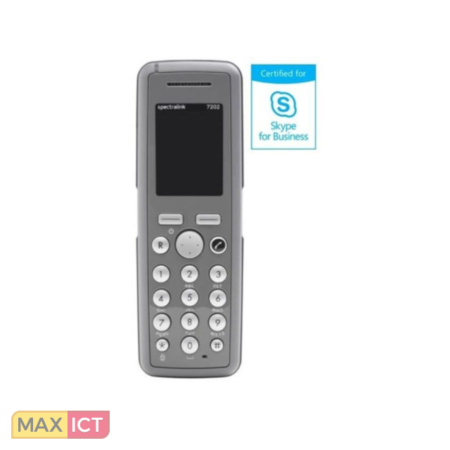 Spectralink 7202 DECT-telefoonhandset Grijs