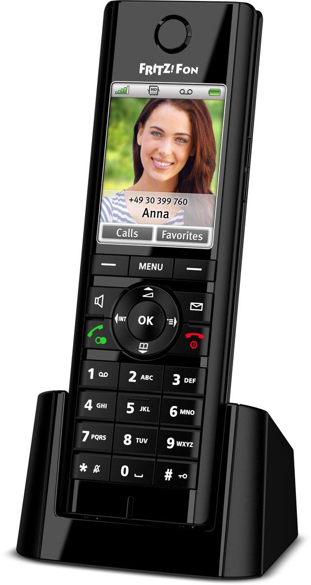 AVM FRITZ!Fon C5 - Single DECT telefoon - Antwoordapparaat - Zwart