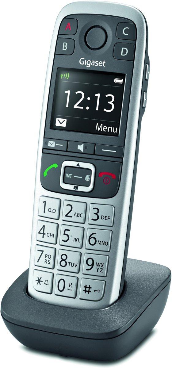 Gigaset E560HX - Single DECT telefoon - Zwart