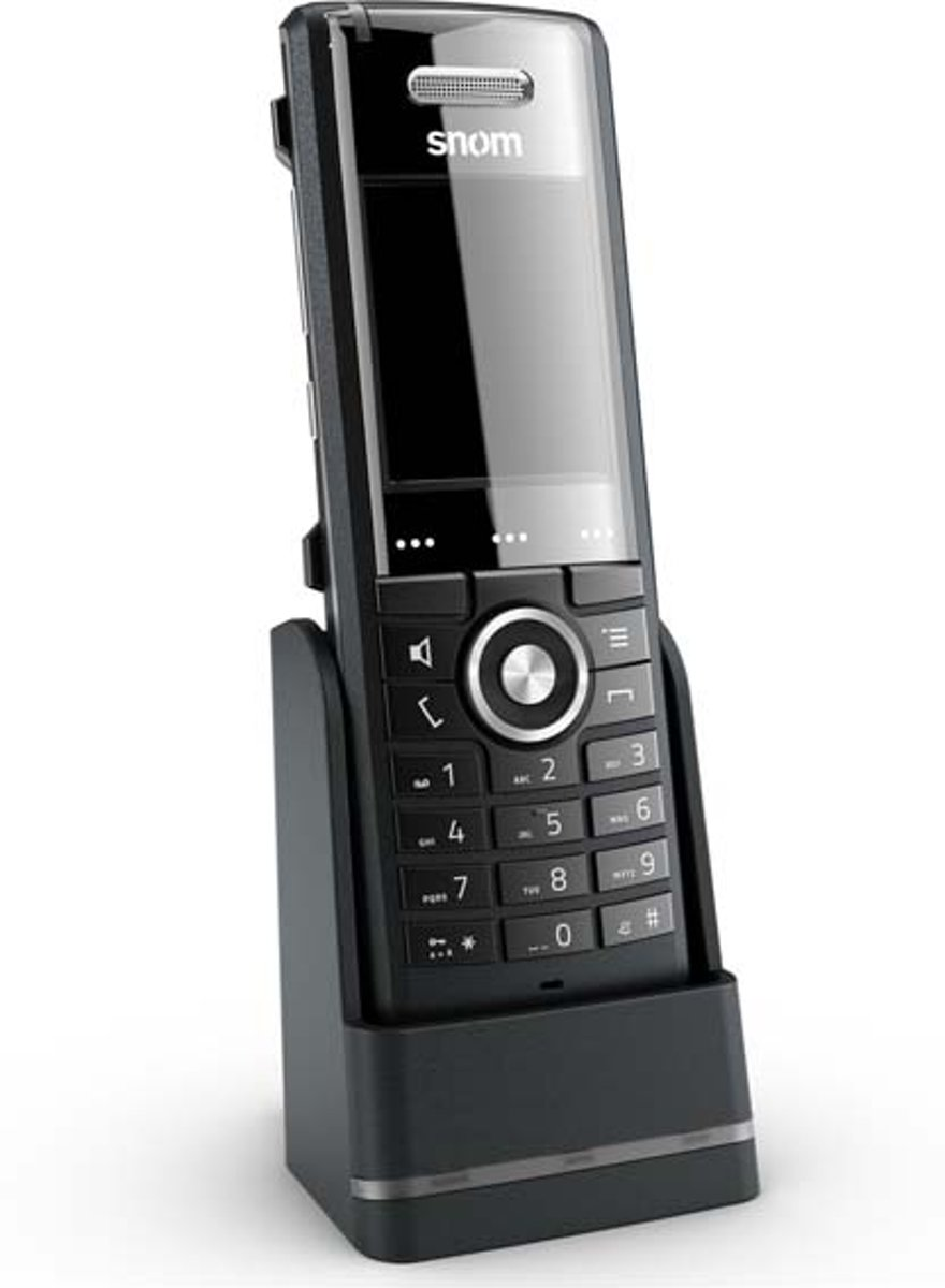 Snom M65 - Single DECT telefoon - Zwart