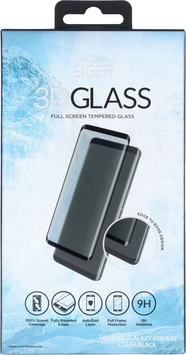 Eiger 3D SP Glass cl Samsung A50/A30