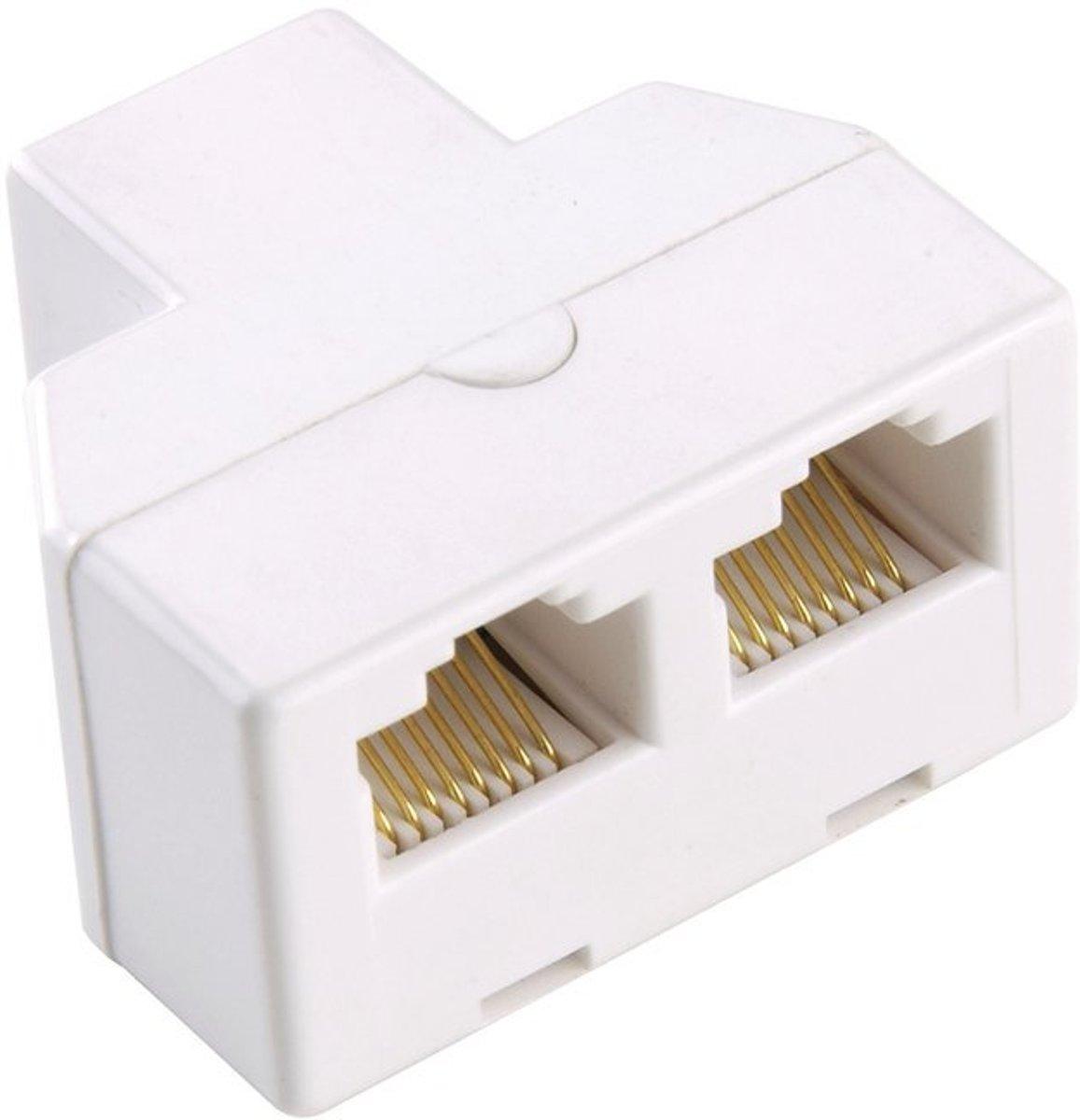 Modulaire 2-Weg Telecom Splitter