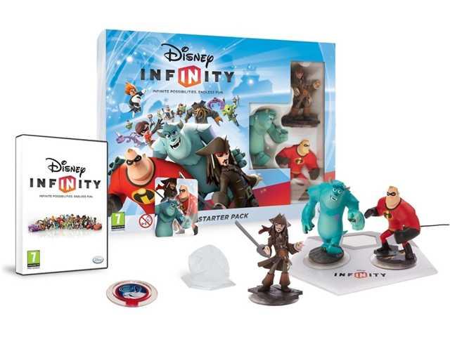 Disney, Infinity Starterspack Wii U