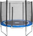 Game On Sport trampoline met veiligheidsnet blauw 183 cm