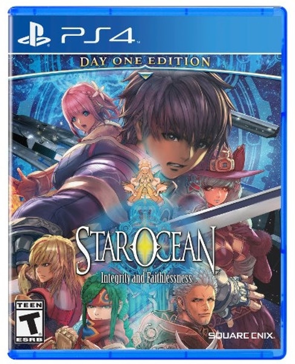 Square Enix Star Ocean: Integrity and Faithlessness, PS4 Basis PlayStation 4 Engels video-game