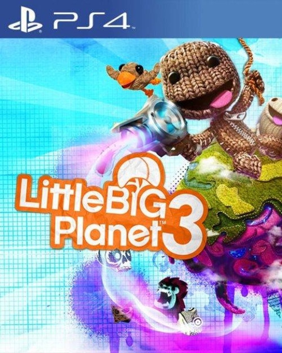 Sony LittleBigPlanet 3, PS4 Basis PlayStation 4 Engels video-game
