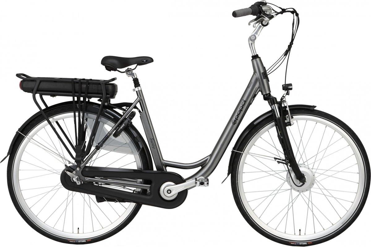 Popal Sway Elektrische fiets - Volwassenen - 53 cm - Zilvergrijs