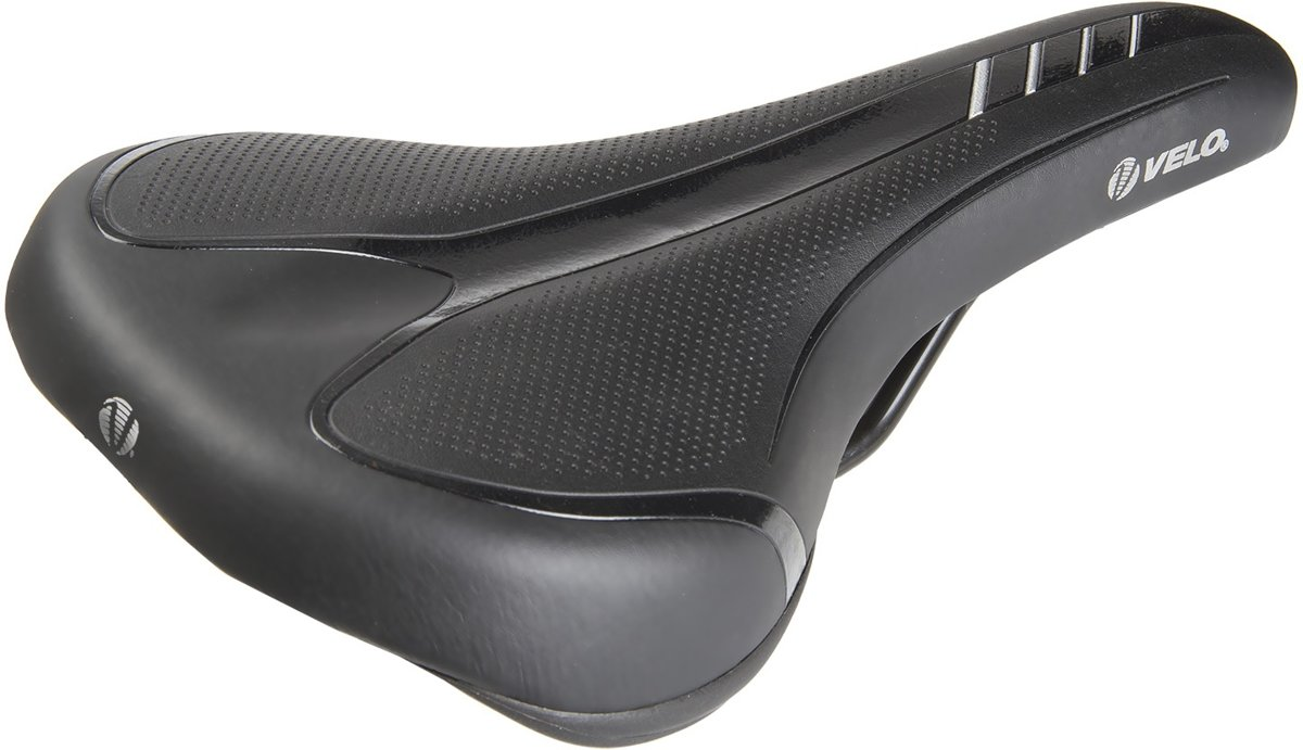 Velo zadel Velo-Fit Traveller M zwart 267 x 152 mm